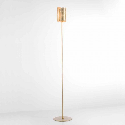 Selene Papiro lampe de sol de design en cristal Ø15 H180 cm