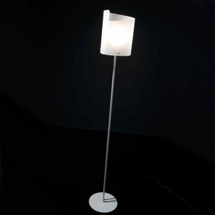 Selene Papiro lampe de sol de design en cristal Ø26 H185 cm
