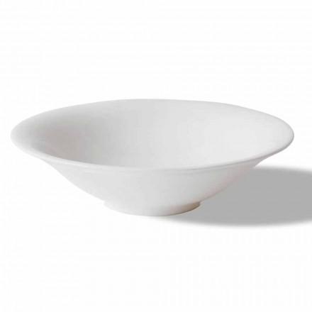 Service de coupes de fruits blancs ou de crème glacée 12 pièces au design élégant - Doriana