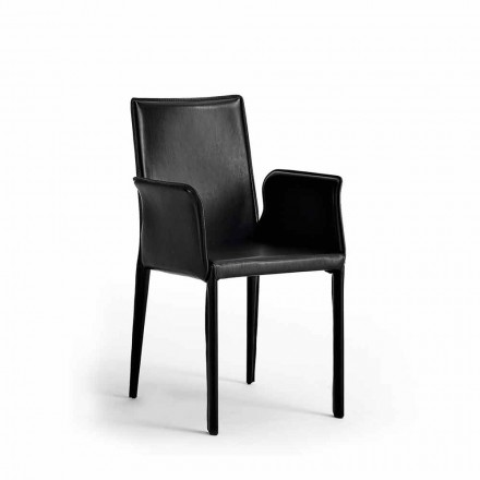 Set deux chaises en cuir, cuir régénéré de design Jolie