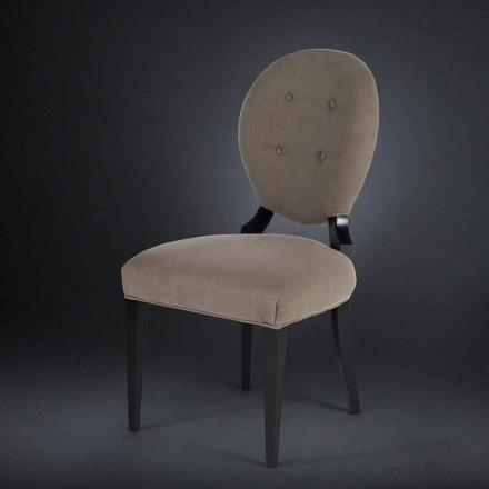 Lot de 2 chaises avec dossier boutonné Sophia