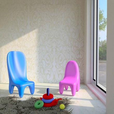 Lot de deux chaises pour enfants fabriquées en Italie; Loriblanche