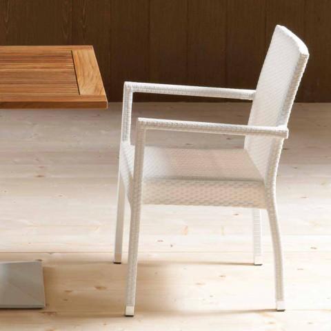Septembre 4 chaises modernes du jardin Portorotondo