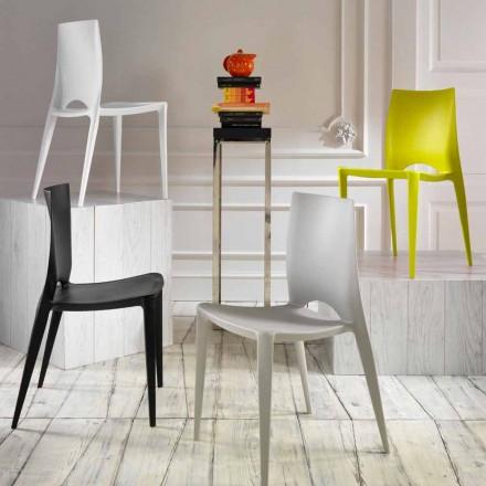 Set de 4 chaises de cuisine et de salle à manger Felicia, moderne