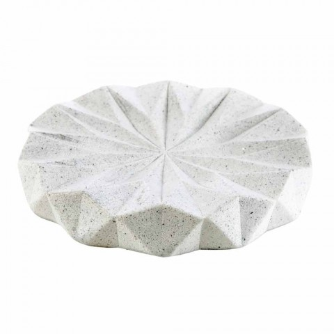 Accessoires de salle de bain modernes en résine blanche Levice
