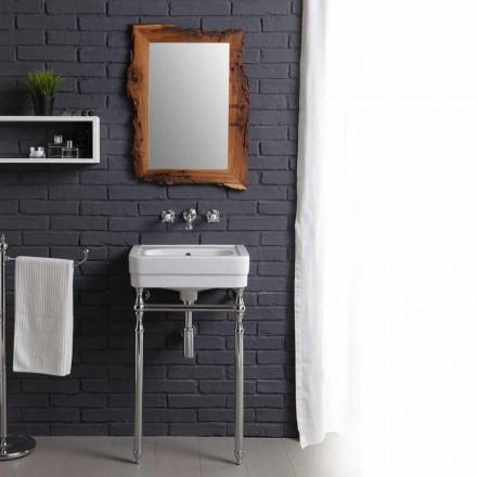 Meuble salle de bain avec lavabo et miroir briccola Creativity