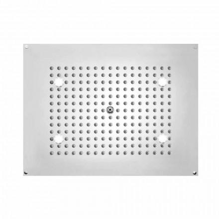 Bossini Plafond de douche rectangulaire 1 jet  , avec lumières LED