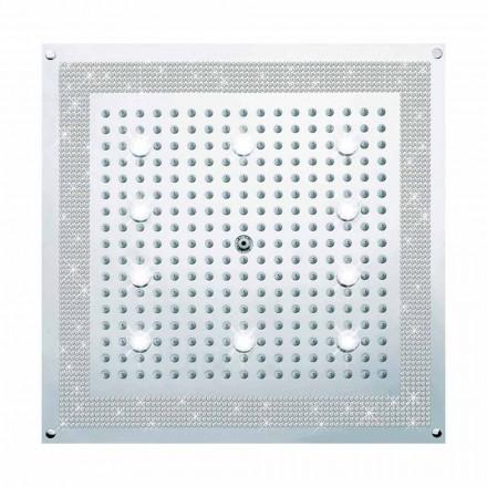 Bossini Plafond de douche avec lumières LED et Swarovski   Dream
