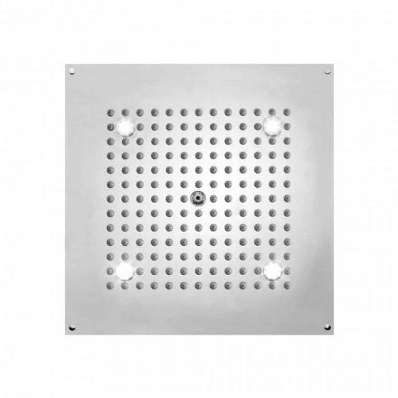 Bossini Plafond de douche carré 1 jet  , avec lumières LED
