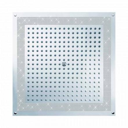 Bossini Plafond de douche avec Swarovski   Cube