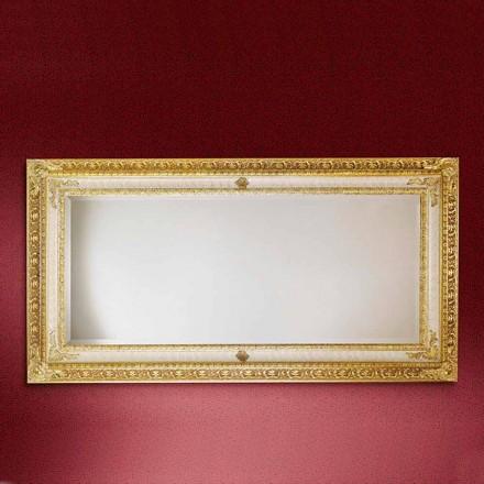 Miroir mural en bois, fabriqué en Italie, Raffaello