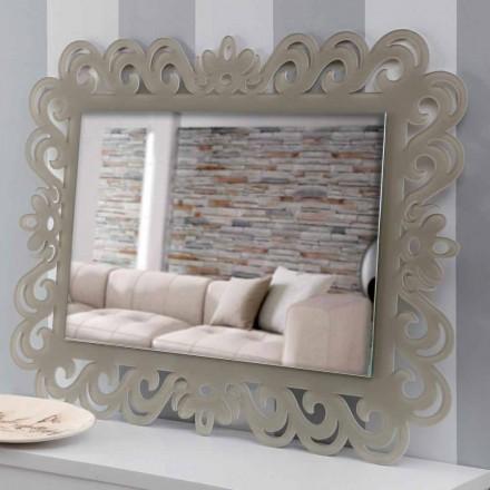 Miroir mural rectangulaire au design moderne en plexiglas Tortora - Selly