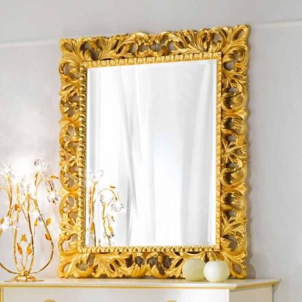 Miroir mural de design classique Ives, 100x120cm
