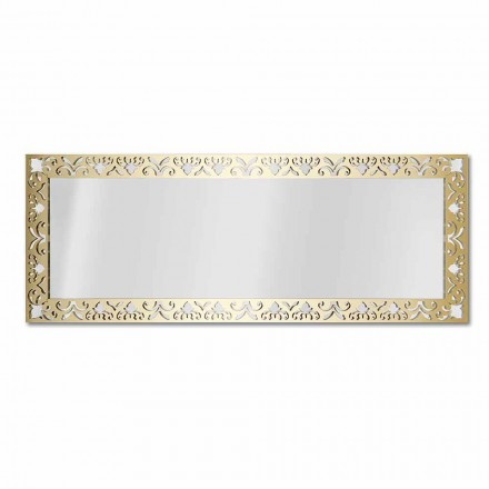 Miroir mural en plexiglas or, argent ou bronze avec cadre - Nectar