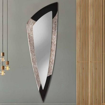 Miroir décoratif moderne mural Urbino, fait à la main en Italie