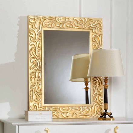 Miroir de sol de design Pepa 75x100cm, made in italy