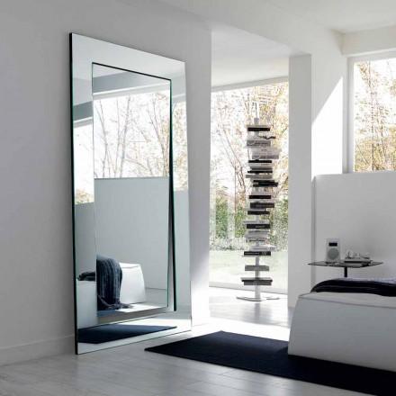 Miroir sur Pied Rectangulaire Design Moderne Fabriqué en Italie - Salamina