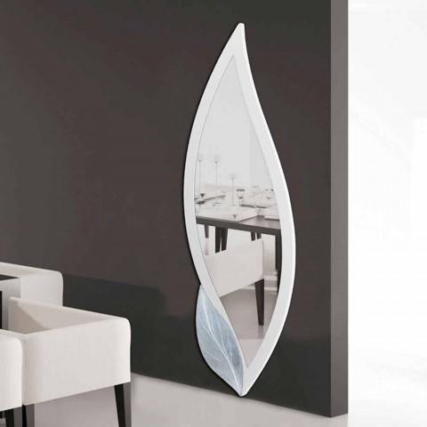 Grand miroir d coratif mural en forme de p tale ellen fait en italie - Miroir decoratif design ...