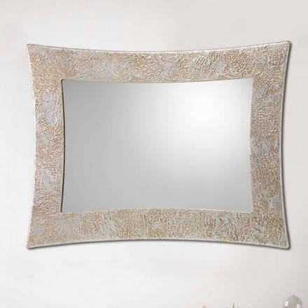 Miroir mural décoratif moderne fait à la main en Italie Venezia