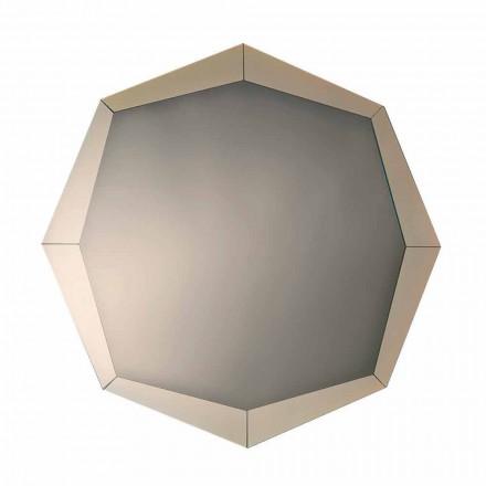 Miroir Design en Finition Cristal Miroir Fabriqué en Italie - Bolina