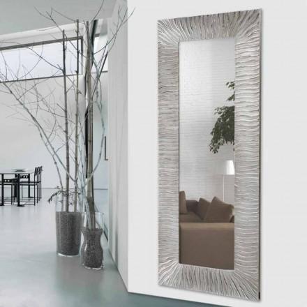 Miroir Décoratif Mural design italien Onde, décoré à la main