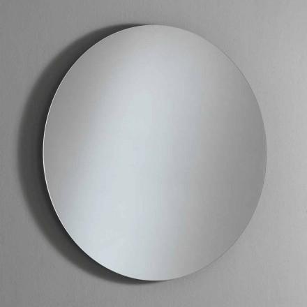 Miroir mural rond rétroéclairé avec LED Made in Italy - Ronda