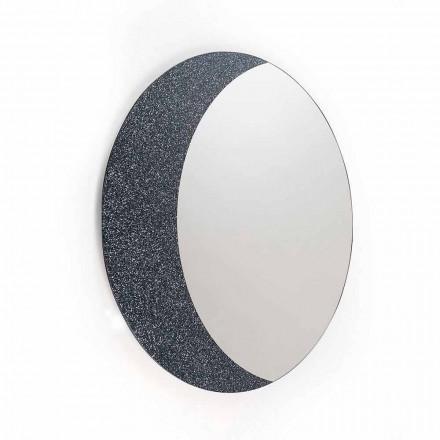 Miroir de design contemporain 100% fait en Italie Aldo