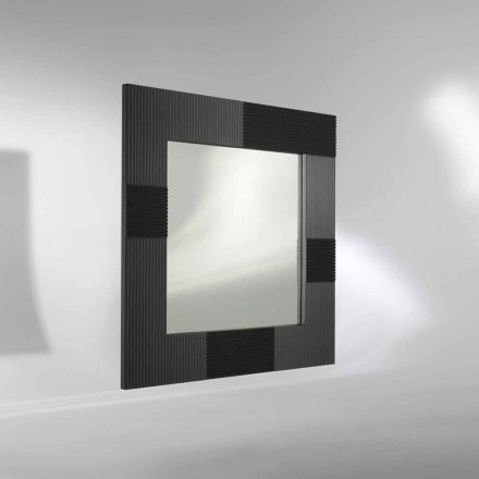 Miroir mural design moderne avec cadre d cor yhalia for Miroir mural moderne