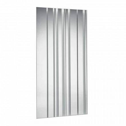 Miroir Mural Rectangulaire Design Moderne Fabriqué en Italie - Coriandolo