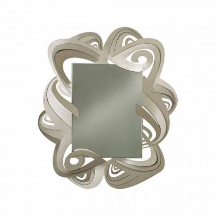 Miroir mural rectangulaire moderne en fer fabriqué en Italie - Penny