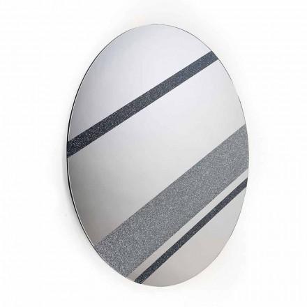 Miroir rond de design moderne 100% fait en Italie Athos
