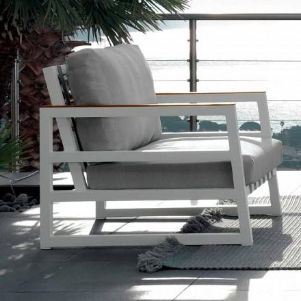 Talenti Alabama fauteuil de jardin de design produit en Italie