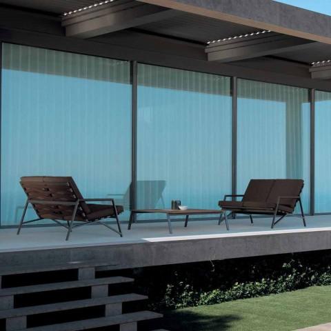 Canapé de jardin design Talenti Cottage fabriqué en Italie