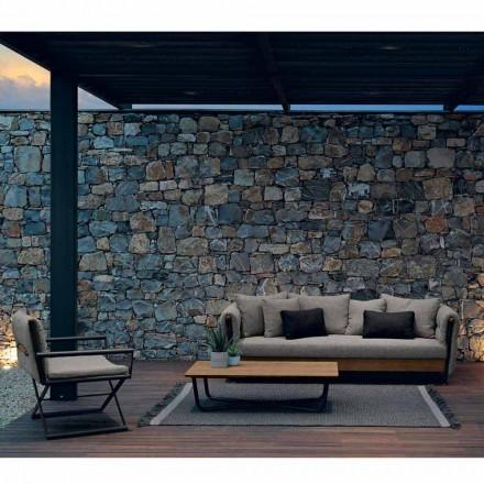 Talenti Domino composition salon de jardin de design faite en Italie