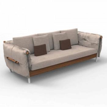 Canapé de jardin design Talenti Domino fabriqué en Italie