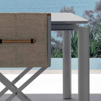 Table de jardin extensible Talenti Domino 200 / 260cm fabriquée en Italie