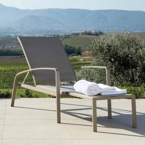 Talenti Lady transat inclinable de jardin de design fait en Italie