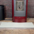 Tapis en cuir pour cheminée/poêle Rio Made in Italy