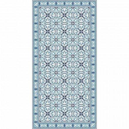 Tapis de cuisine à motifs modernes en PVC et polyester - Lindia