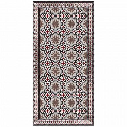 Tapis de Salon Rectangulaire Design en PVC et Polyester - Coria