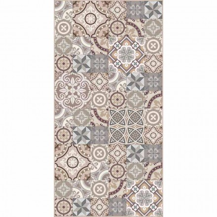 Tapis en vinyle de salon rectangulaire design - Malia