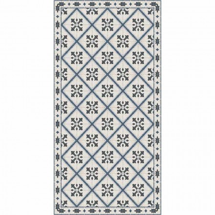 Tapis de Salon Rectangulaire Moderne en Vinyle - Berimo