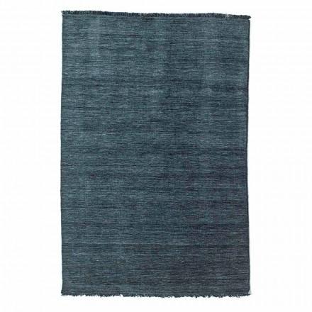 Tapis de salon au design moderne polyvalent en 100% laine - Pepita