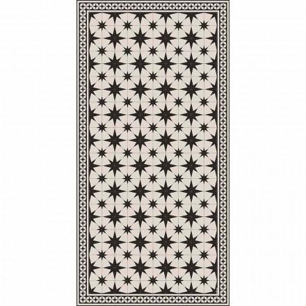 Tapis en vinyle rectangulaire au design moderne avec fantaisie - Osturio