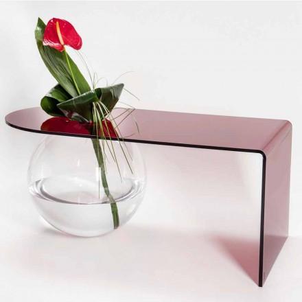 Table de bridge moderne en plexiglas fabriquée en Italie, Bolly
