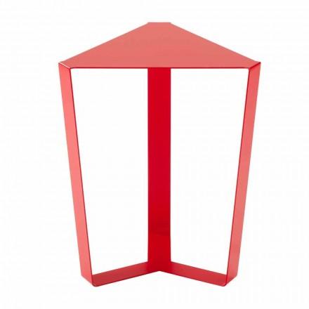 Table basse design en métal coloré Made in Italy - Yasmine