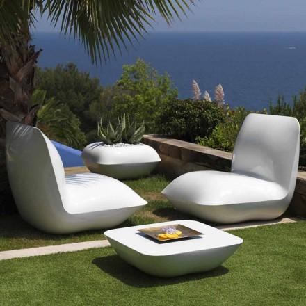 Table basse de jardin Oreiller Vondom, design moderne 67x67 cm