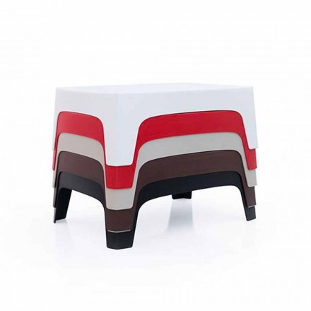 Table basse d'extérieur Collection Solid de Vondom en polypropylène