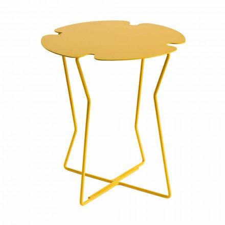 Table basse de salon en métal, design de différentes couleurs - Kathrin