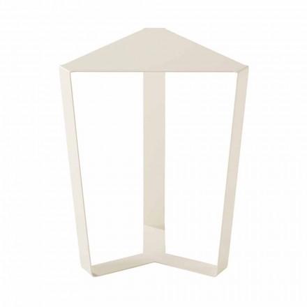 Table basse extérieure en métal diverses couleurs, design italien moderne - Yasmine